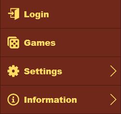 bingo cafe mobile menu