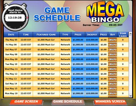 bingo cafe mega bingo online bingo game