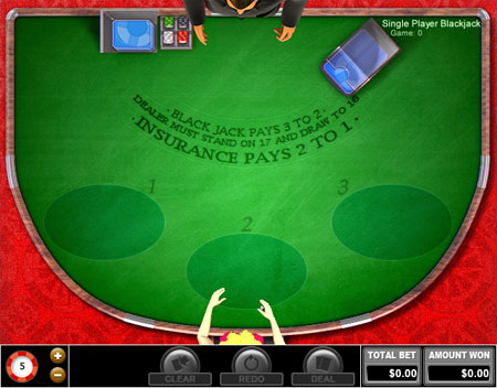 bingo cafe single player blackjack online casino game