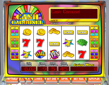 bingo cafe cash carousel 5 reel online slots game