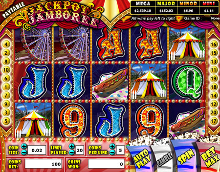bingo cafe jackpot jamboree 5 reel online slots game