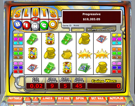 bingo cafe slots of bingo 5 reel online slots game